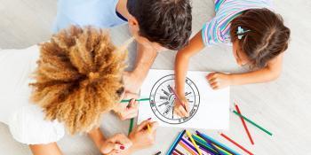 L'energia dei bambini in casa, con la ruota Haliborange!